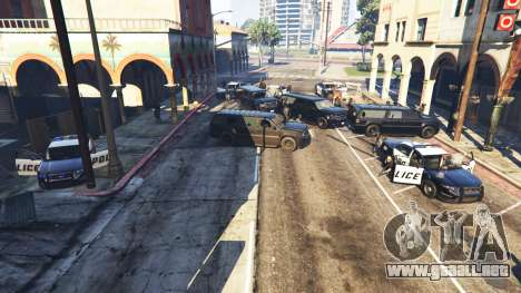 GTA 5 Hardcore Police Chasing segunda captura de pantalla