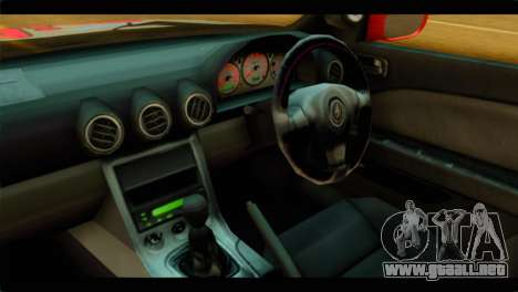 Nissan Silvia S14 Yuuki Asuna Itasha para la visión correcta GTA San Andreas