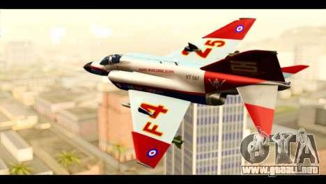 McDonnell Douglas F-4E Phantom II para GTA San Andreas left