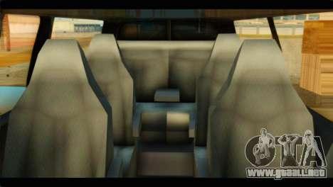 GMC Savana 3500 Passenger 2013 para la visión correcta GTA San Andreas