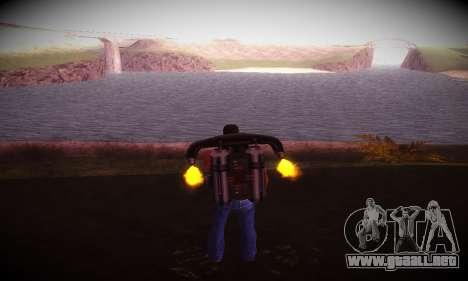 Ebin 7 ENB para GTA San Andreas tercera pantalla