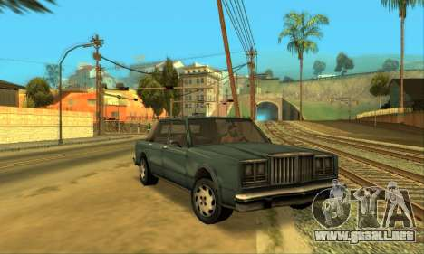 Beta VC Greenwood para visión interna GTA San Andreas