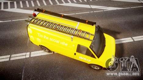 Vapid Speedo Whiz para GTA 4 visión correcta