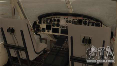 Agusta-Bell AB-212 Croatian Police para GTA San Andreas vista hacia atrás