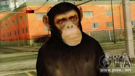 Monkey Skin from GTA 5 v1 para GTA San Andreas tercera pantalla