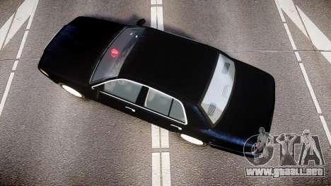 Ford Crown Victoria NYPD Unmarked [ELS] para GTA 4 visión correcta
