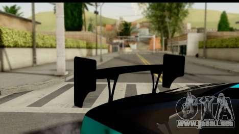 Nissan 200SX S13 Skin para GTA San Andreas vista hacia atrás