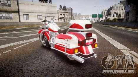GTA V Western Motorcycle Company Sovereign POL para GTA 4 Vista posterior izquierda