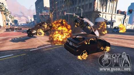 GTA 5 El debilitamiento del vehículo cuarto captura de pantalla