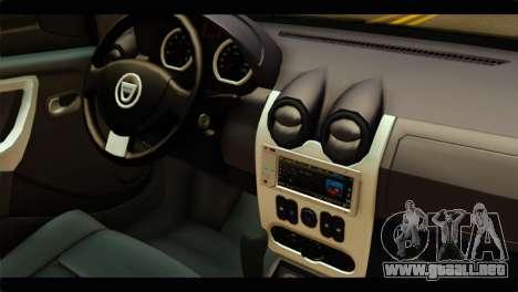 Dacia Logan Stance para la visión correcta GTA San Andreas