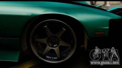 Nissan 200SX S13 Skin para la visión correcta GTA San Andreas