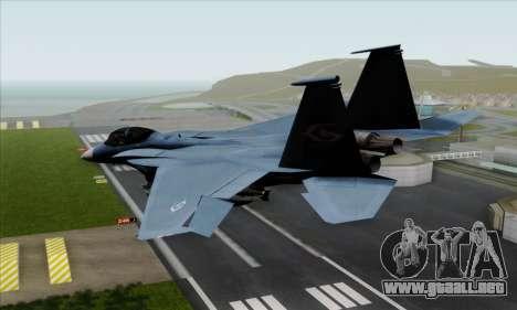 McDonnell Douglas F-15D Eagle GRDF para GTA San Andreas left