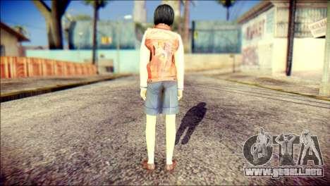 Sofia Child Skin para GTA San Andreas segunda pantalla