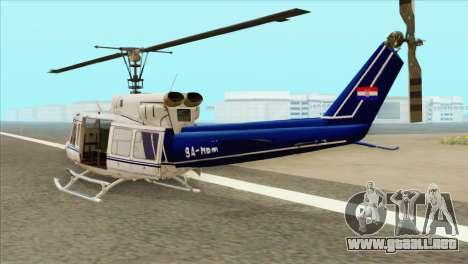 Agusta-Bell AB-212 Croatian Police para GTA San Andreas left