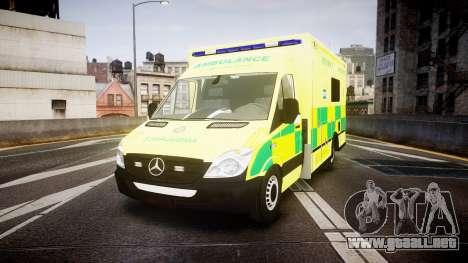 Mercedes-Benz Sprinter Ambulance [ELS] para GTA 4