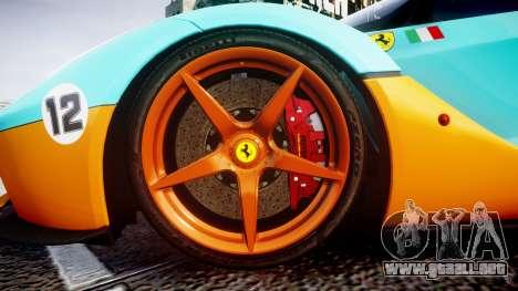 Ferrari LaFerrari 2013 HQ [EPM] PJ1 para GTA 4 vista hacia atrás