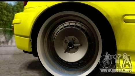 Honda Civic 1.4 Taxi para GTA San Andreas vista hacia atrás