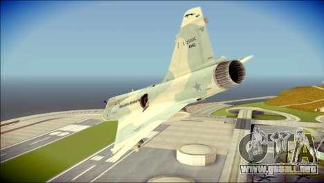 Dassault Mirage 2000-C FAB para GTA San Andreas left
