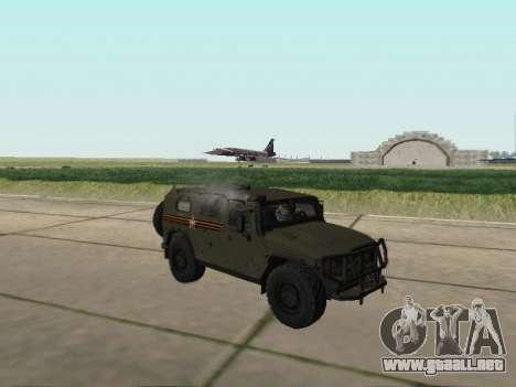 GAZ 2330 Frente para la visión correcta GTA San Andreas