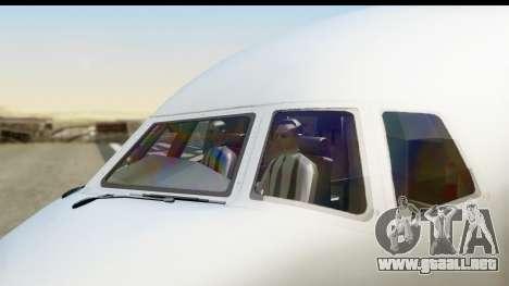 Boeing 777-200ER American Airlines para la visión correcta GTA San Andreas