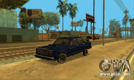 Beta VC Greenwood para la vista superior GTA San Andreas