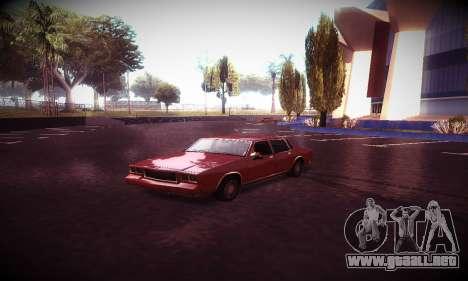 Ebin 7 ENB para GTA San Andreas décimo de pantalla