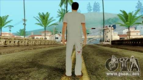 ER Alex Shepherd Skin without Flashlight para GTA San Andreas segunda pantalla