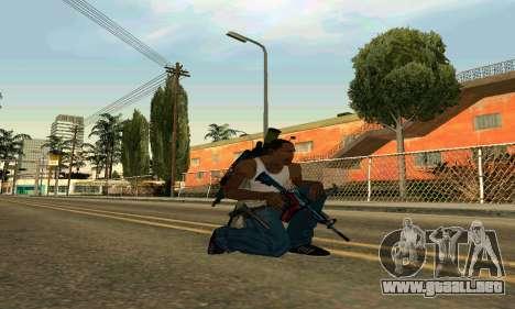 M4A1 Hyper Beast para GTA San Andreas segunda pantalla