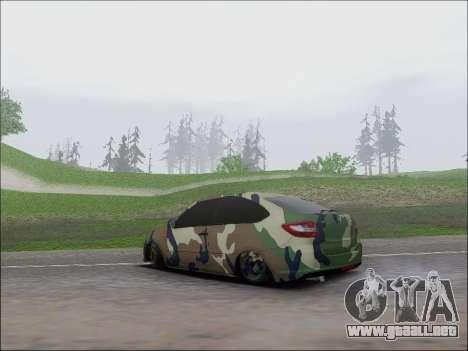 Lada Granta Liftback Coupe para GTA San Andreas vista posterior izquierda
