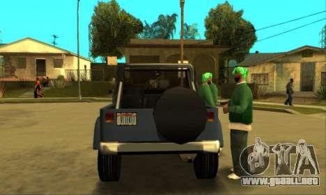 Mesa Final para la visión correcta GTA San Andreas