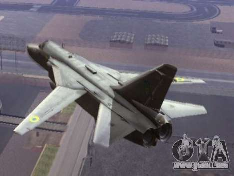 SU 24MR para GTA San Andreas left