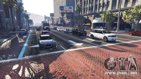 GTA 5 Más tráfico y población segunda captura de pantalla