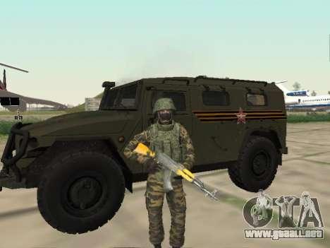 GAZ 2330 Frente para GTA San Andreas left