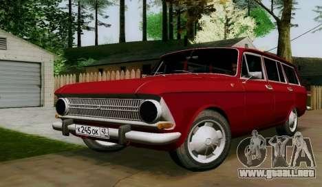 IZH-412 Wagon para GTA San Andreas