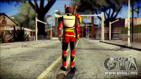Satria Garuda Bima X para GTA San Andreas segunda pantalla
