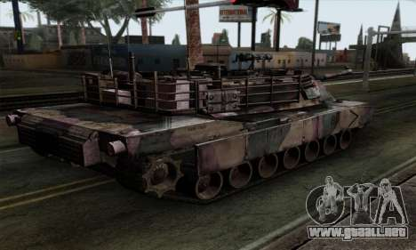 M1A2 Abrams Autumn Camo para GTA San Andreas left