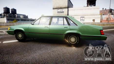 Ford LTD LX 1985 v1.6 para GTA 4 left