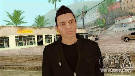 Claude from GTA 5 para GTA San Andreas tercera pantalla