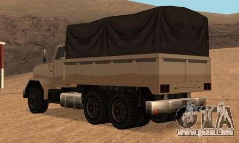 Barracks Fixed para visión interna GTA San Andreas