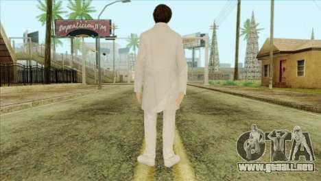 Takedown Redsabre NPC Scientist para GTA San Andreas segunda pantalla