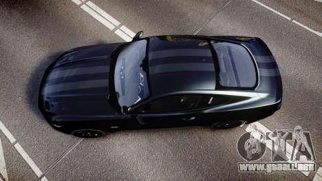 Ford Mustang GT 2015 FBI Unmarked [ELS] para GTA 4 visión correcta