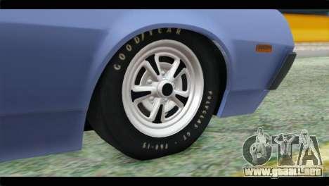 Ford Gran Torino para GTA San Andreas vista posterior izquierda