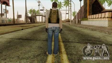Sniper from PMC para GTA San Andreas segunda pantalla