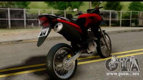 Honda XRE 300 v2.0 para GTA San Andreas left