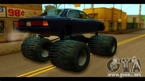 Monster Merit para GTA San Andreas left