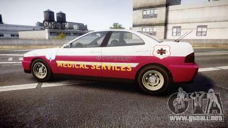 Dinka Chavos Paramedic para GTA 4 left