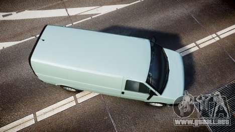 Vapid Speedo ST para GTA 4 visión correcta