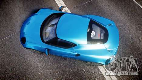 Alfa Romeo 4C 2014 HD Textures para GTA 4 visión correcta