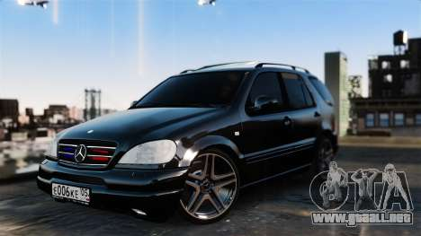 Mercedes-Benz ML 55 AMG para GTA 4
