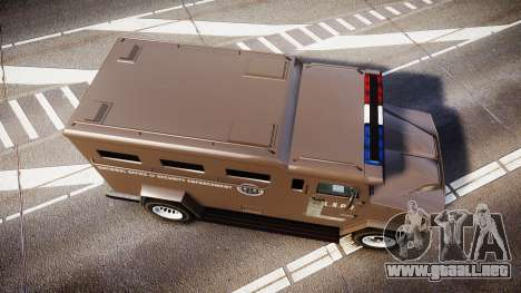 GTA V Brute Police Riot [ELS] skin 1 para GTA 4 visión correcta